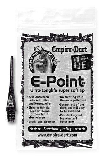 Empire Dart Softdartspitzen, E-Point, 2BA, lang,...