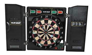 Elektronische Dartscheibe Dartspiel LCD Dartpfeile Profi Dart #1757 -